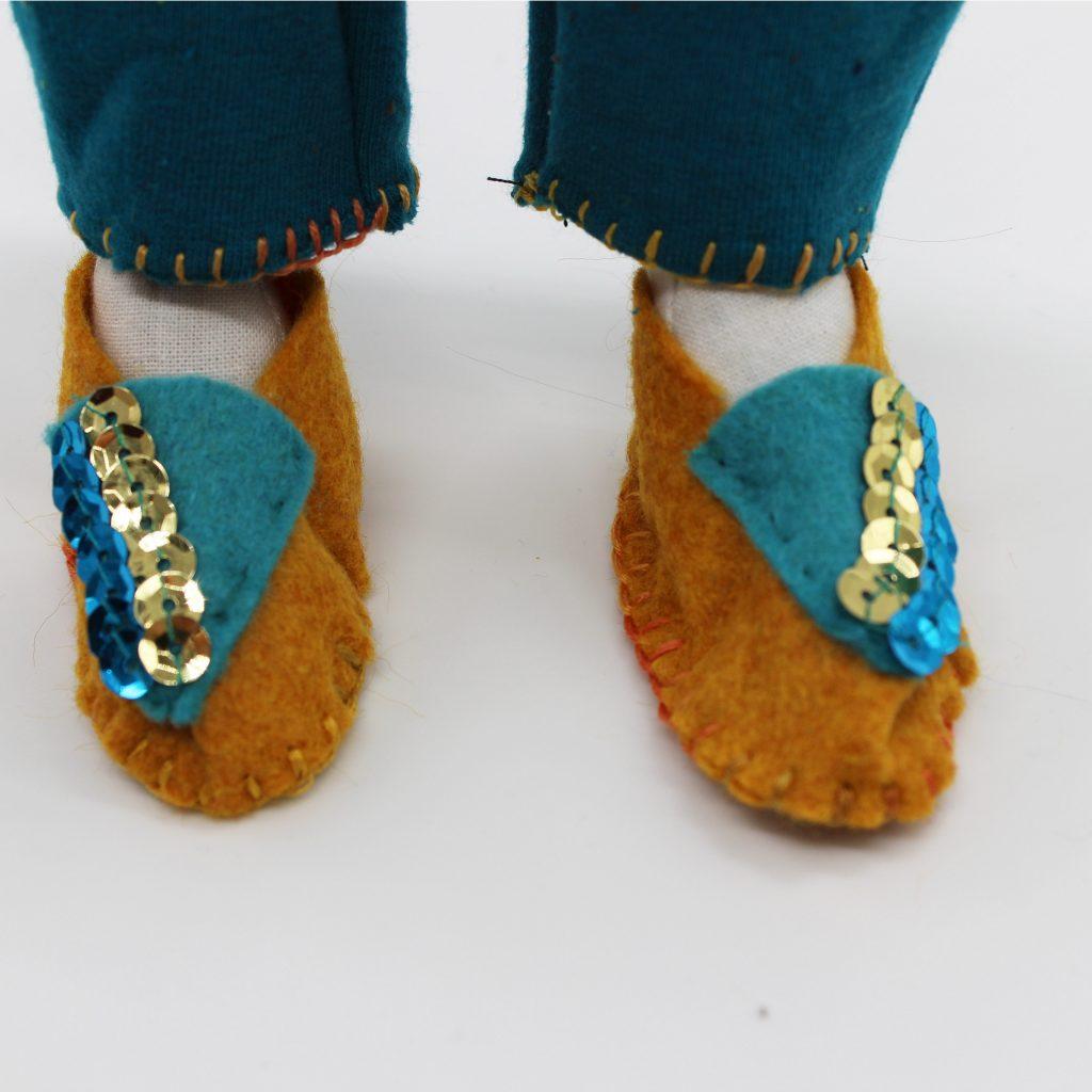 Les chaussures délicates