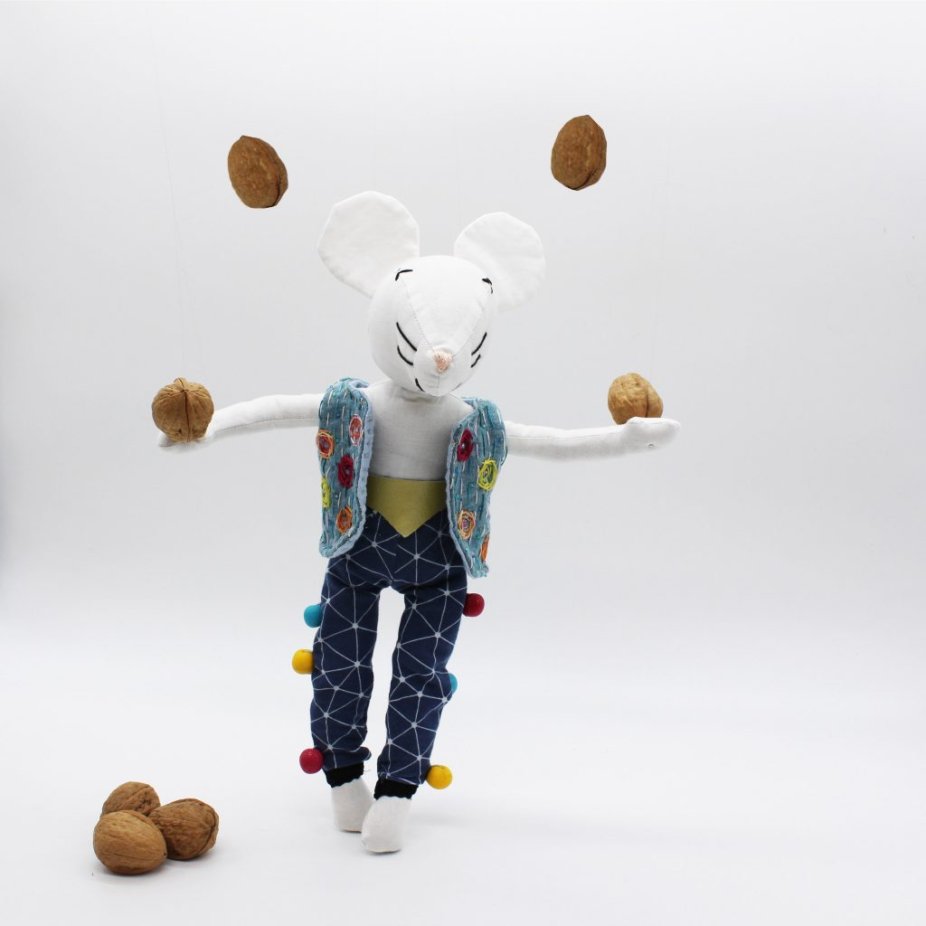 Edgar le jongleur de noix